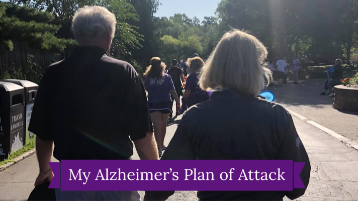 My Daily Alzheimer's Plan of Attack