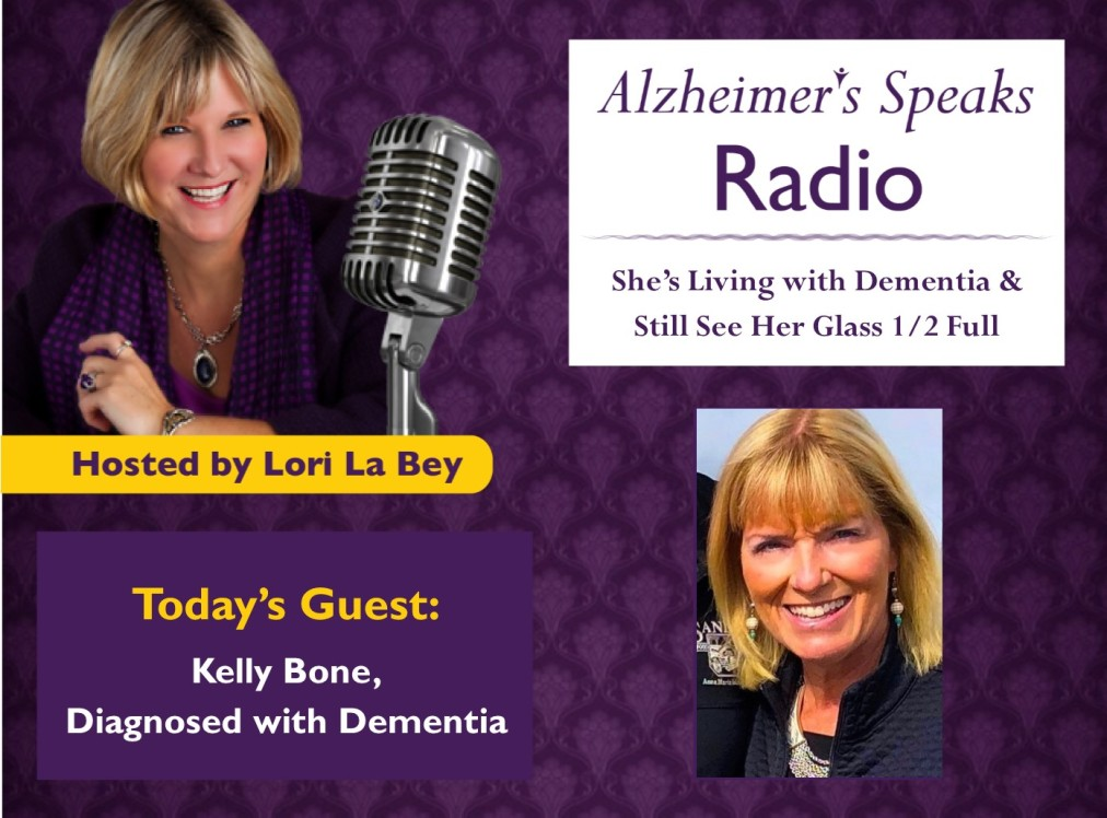 My Interview with Lori LaBey on Alzheimer's SpeaksRadio